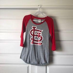 Women's St. Louis Cardinals baseball shirt